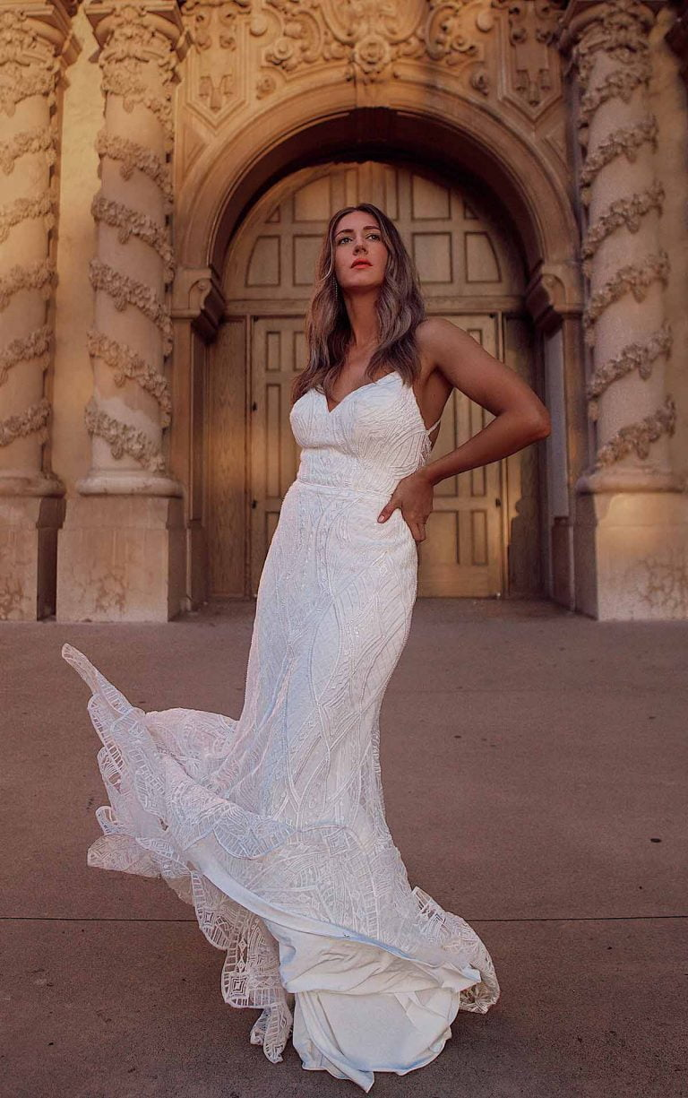 Fit-and-Flare Wedding Dresses