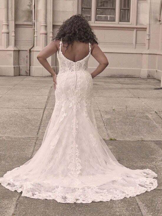 Low Back & Statement Train Wedding Dresses