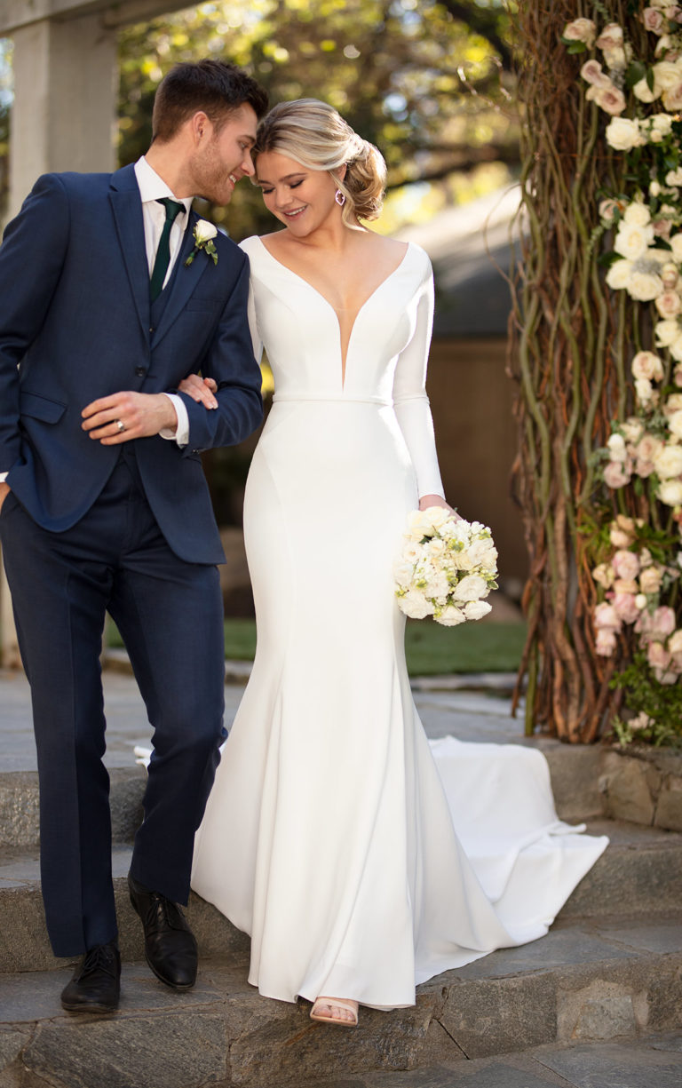 Crepe Wedding Dresses